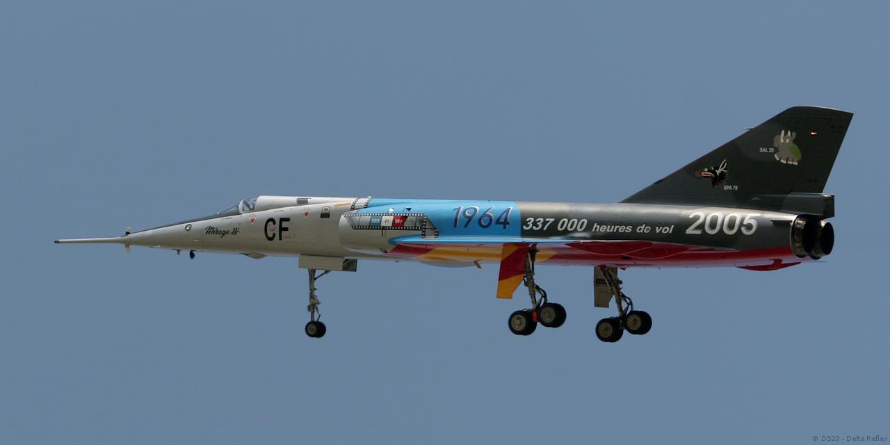 Mirage Iv P 59 Cf Ers 1 91 Gascogne France Creil